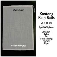 Kantong Kain Batis 25 x 35 cm