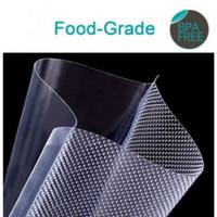 Refill Plastik Sealer 100 Pcs Food Vacuum Kedap Udara 10x15 / 12x20