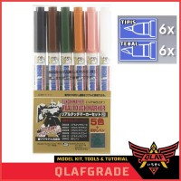 Gundam Marker for WEATHERING - REAL TOUCH MARKER SET 6 no 2
