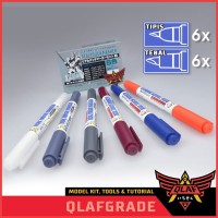 Gundam Marker for WEATHERING - REAL TOUCH MARKER SET 6 no 1