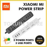 Xiaomi Mi Power Strip 3 Smart Stop Kontak Colokan Adaptor 3 USB Socket