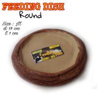 Feeding Dish Round size M-Tempat minum kura-Tempat makan kura