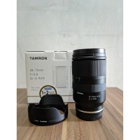 Tamron 28-75mm F2.8 Di III RXD Lens for Sony E-Mount - LIKE NEW!!!