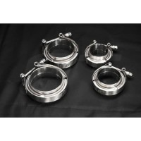 E+ CNC V-BAND CLAMP KIT - KLEM PIPA PIPE Stainless Steel 3 inch