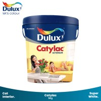 Cat Tembok Dulux Catylac Interior Ready Mix Super White 44177 5Kg