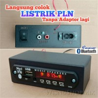 Rakitan Mp3 USB FM Bluetooth Player AC 220V-240V Mini Box