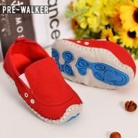 Sepatu Bayi Pre-Walker / First Walker Kode: SS.490 Red - 11 cm