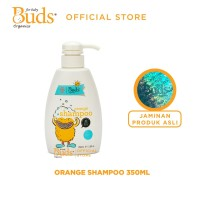 Buds Organics Growing Up for Kids Shampoo : Orange 350ml