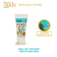 Buds Oralcare Organics - Oral Gel for Baby Teeth and Gums ( 0-1 year)