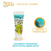 Buds Oralcare Organics - Children's Toothpaste xylitol Green Apple