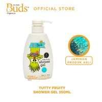 Buds Organics - Tutti Frutty Shower Gel 350 ml - Sabun Mandi Anak