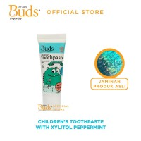 Buds Oralcare Organics - Children's Toothpaste with xylitol Peppermint