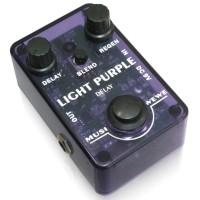 Efek Gitar Musiwewe Light Purple Delay