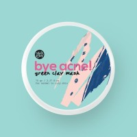 BYE ACNE! FRENCH GREEN CLAY MASK 70GR [KLEI AND CLAY] - 50