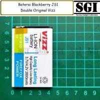 Baterai Vizz Double Power Blackberry BB JS1 Curve 9310 9230 Davis 9220