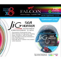 Senar pancing PE X8 FALCON SEA HUNTER JIG BRAIDED PE / TOURNAMENT - PE 6.0