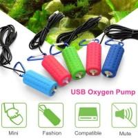 Air pump Airpump Aerator Pompa Udara USB DC Baterai Batere Powerbank