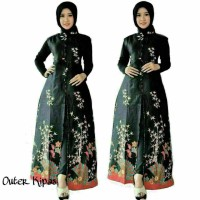 baju batik wanita outer cardigan pakaian batik wanita atasan wanita