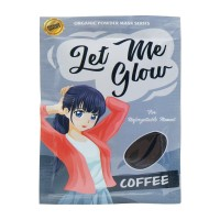 Isaraya Masker Wajah Let Me Glow Coffee - 15gr