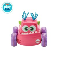 Fisher Price Press N Go Monster Truck (Pink) - Mainan Mobil Anak