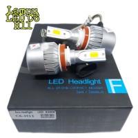 Lampu Foglamp Mobil LED C6 H11 COB 2PCS - White 6000K Universal