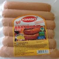 KIMBO Bratwurst Sosis Bakar Keju 500gram
