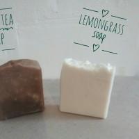 Sabun Sereh Kefir/Lemongrass Soap/Organic Kefir Soap/Sabun Sereh