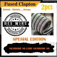 Fused clapton Mix Spesial Edition Ni90/Ni80 -2pcs