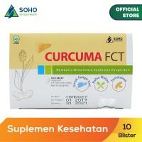Curcuma FCT Memelihara Kesehatan Fungsi Hati - 10 Blister @10 Tablet
