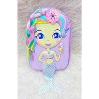 Kotak pensil Model smiggle Mermaid / Hardcase Boxes Pencil Mermaid - Mermaid