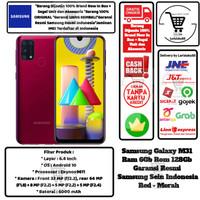 Samsung Galaxy M31 6GB/128GB 6/128GB M 31 6/128 GB Resmi Sein-Red