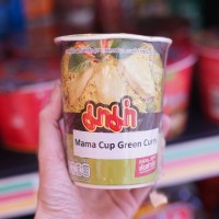 Mama Noodle Cup Green Curry