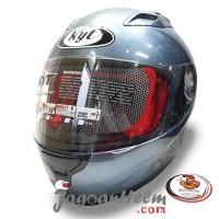 Kyt Helm Rc Seven All Grey Rc7 Rcseven Fullface Rc-seven Ready Stock