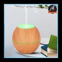 Taffware Ultrasonic Humidifier Aroma Essential Oil Wood 130Ml -Jk-