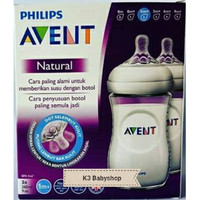 Philips Avent Natural Bottle Twin Pack 260 ml ( isi 2 )