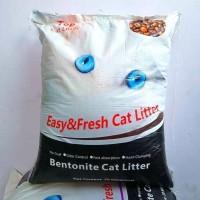 Promo Pasir Kucing Gumpal Wangi Top Cat Litter 20Kg Pasir Bentonite