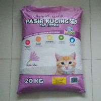 Promo Gojek Only- Pasir Kucing Kawan 20Kg Cat Litter Bentonite Gumpal