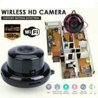 Mini IP Cam Camera Wifi Wireless Infrared Cctv Indoor Kamera Pengintai