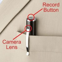 Spy Pen Cam Camera Mini Kamera Pengintai Mata-mata Bentuk Pena Pulpen