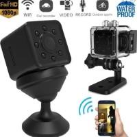 Spy Cam Kamera Pengintai SQ13 Mini Dv Wifi Sport Action Camera Full HD