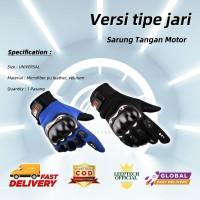 Sarung Tangan Motor / Sport / Biker / Aksesoris / Otomotif