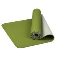 Matras Yoga Pilates Universal 6mm TPE Anti Slip untuk Olahraga Gym