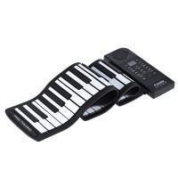 Keyboard Piano Elektronik Portable Silikon 61 Kunci