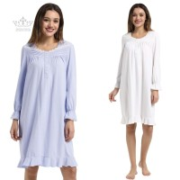 Clothing Cotton Plus size Women's Long Sleeves Comfortable Ladies