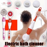 Electric Spin Massage Shower Brush Bath SPA Cleaning Waterproof Back