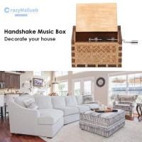 Kotak Musik Kreatif Bahan Kayu untuk Dekorasi Ruang Tamu