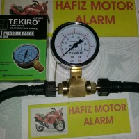 alat ukur tekanan bahan bakar injeksi 8x6 presure gauge segi 6 untuk