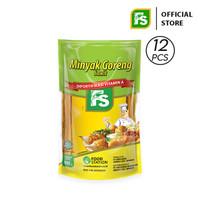 FS Minyak Goreng Sawit Super 900 ml / Karton (12 Pouch)
