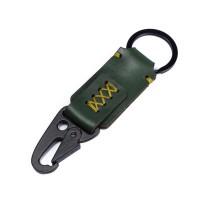 Gantungan Kunci Kulit Sapi Asli Keychain Snap hook Carabiner GK-H05