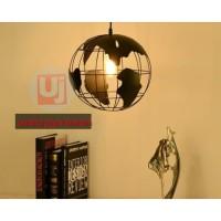 lampu minimalis gantung lampu dunia dekor